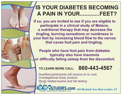 how to stop diabetic foot nerve pain